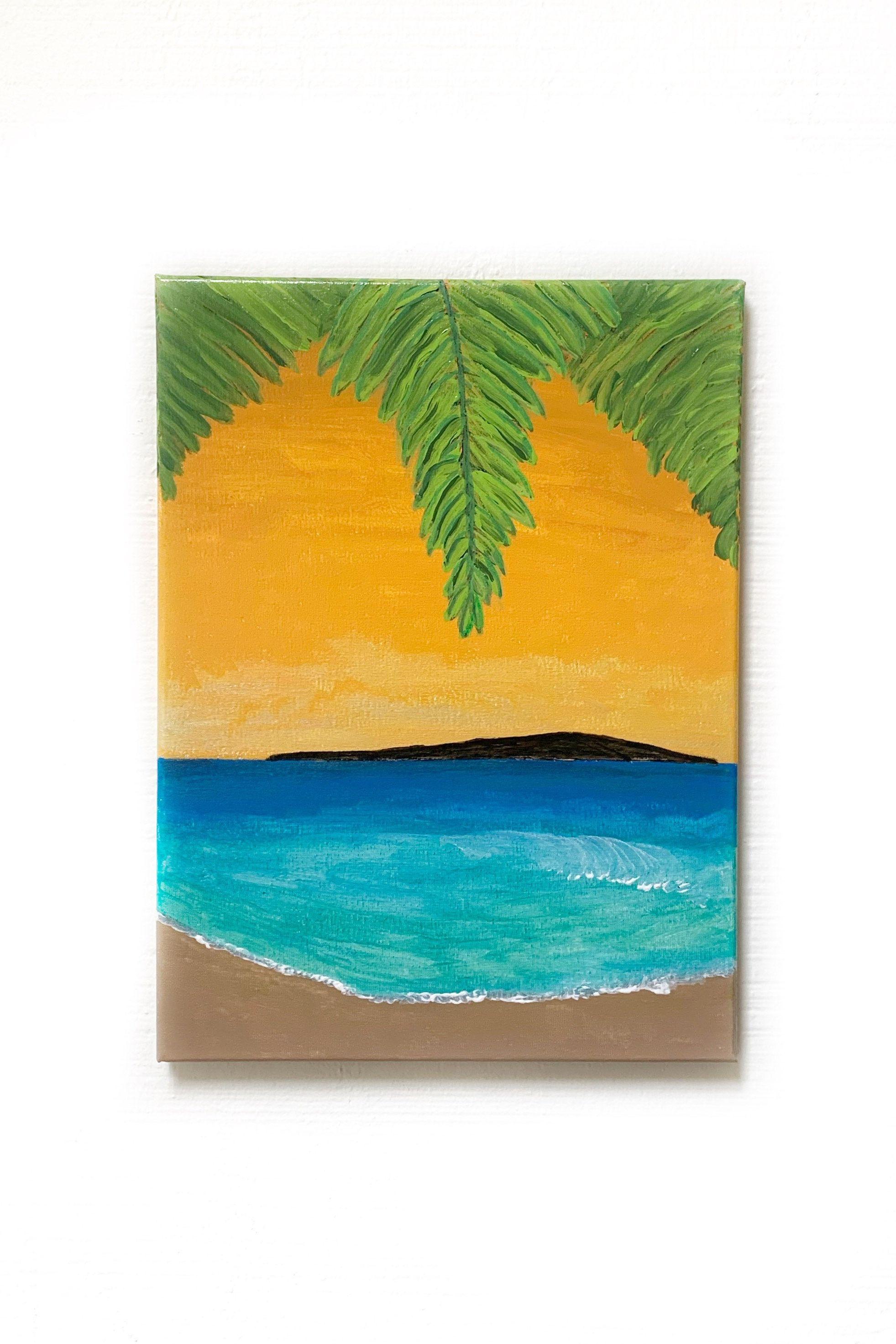 Majestic Makena Painting Surf Art Maui Art Coastal Wall Etsy In 2020 Surf Art Cute Canvas Paintings Painting