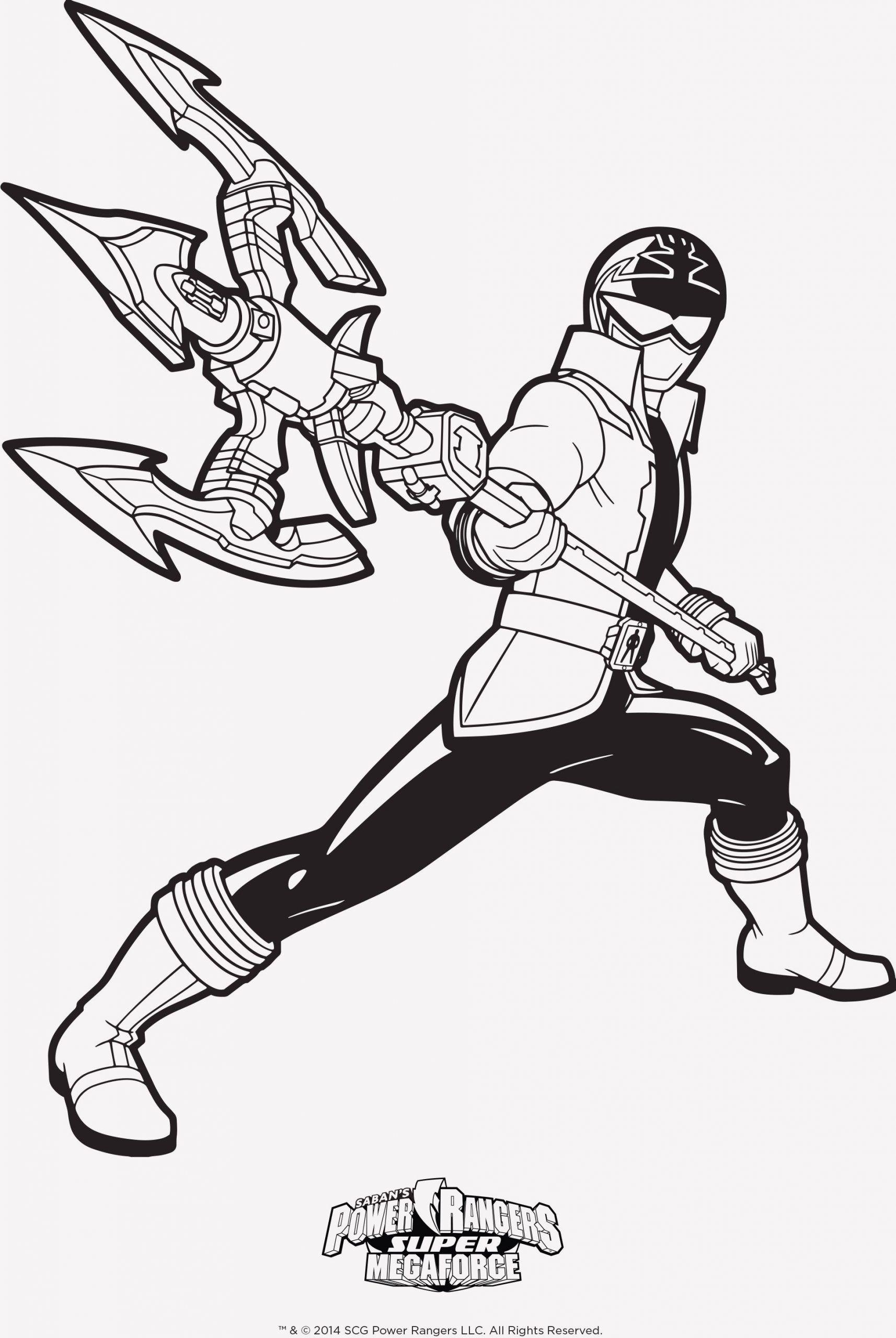 Power Rangers Dino Thunder White Ranger Coloring Pages Taken