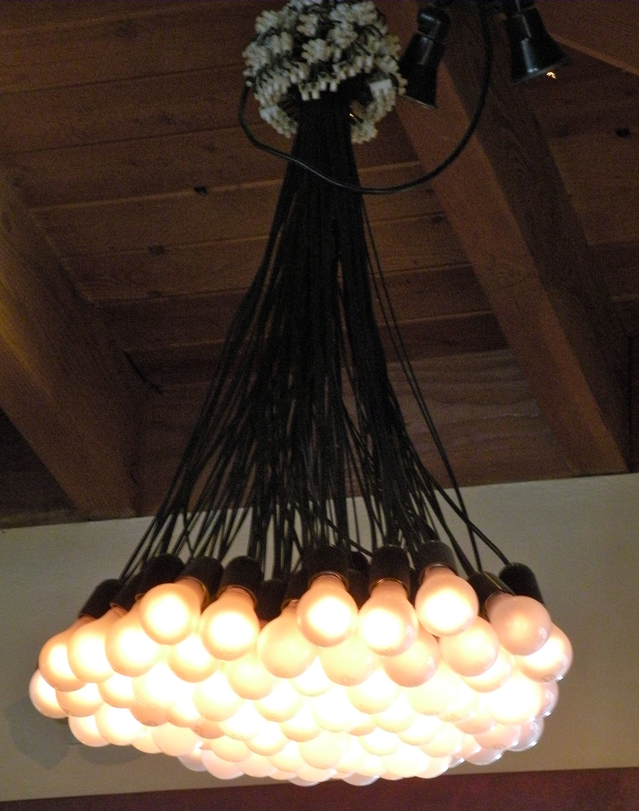 Napa valley restaurant light fixture