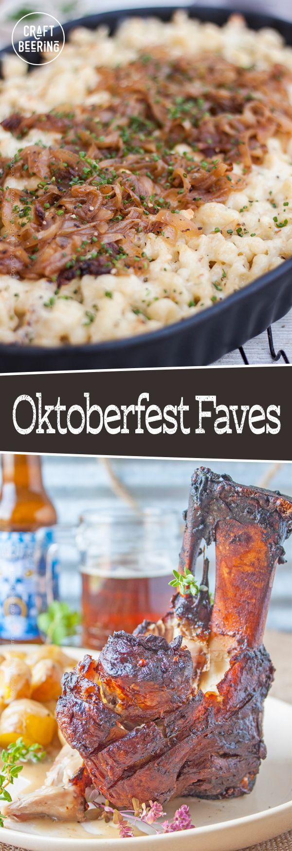 Beer Garden Menu (With images) Oktoberfest food