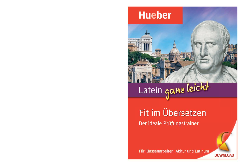 Latein Ganz Leicht Fit Im Ubersetzen Unterrichtsmaterial Im Fach Latein Latein Klassenarbeiten Unterrichtsmaterial
