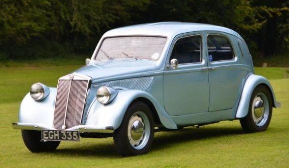 1937 Lancia Aprilia - The Aprilia, like all early Lancias, was ...