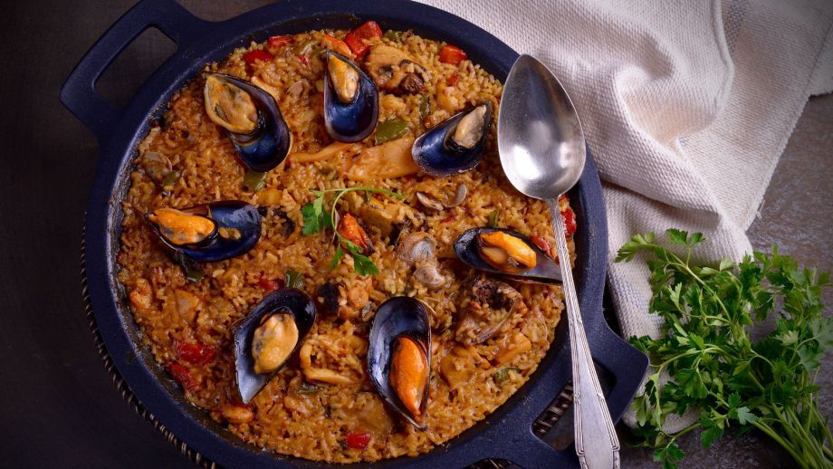 Paella Mixta A Mi Estilo Hermana María José Receta Canal Cocina Receta De Puchero Paella Mixta Receta Comida