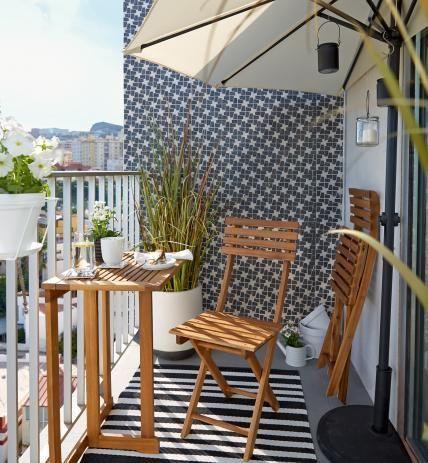 balkon einrichten tipps ideen f r jede himmelsrichtung garten und balkon pinterest. Black Bedroom Furniture Sets. Home Design Ideas