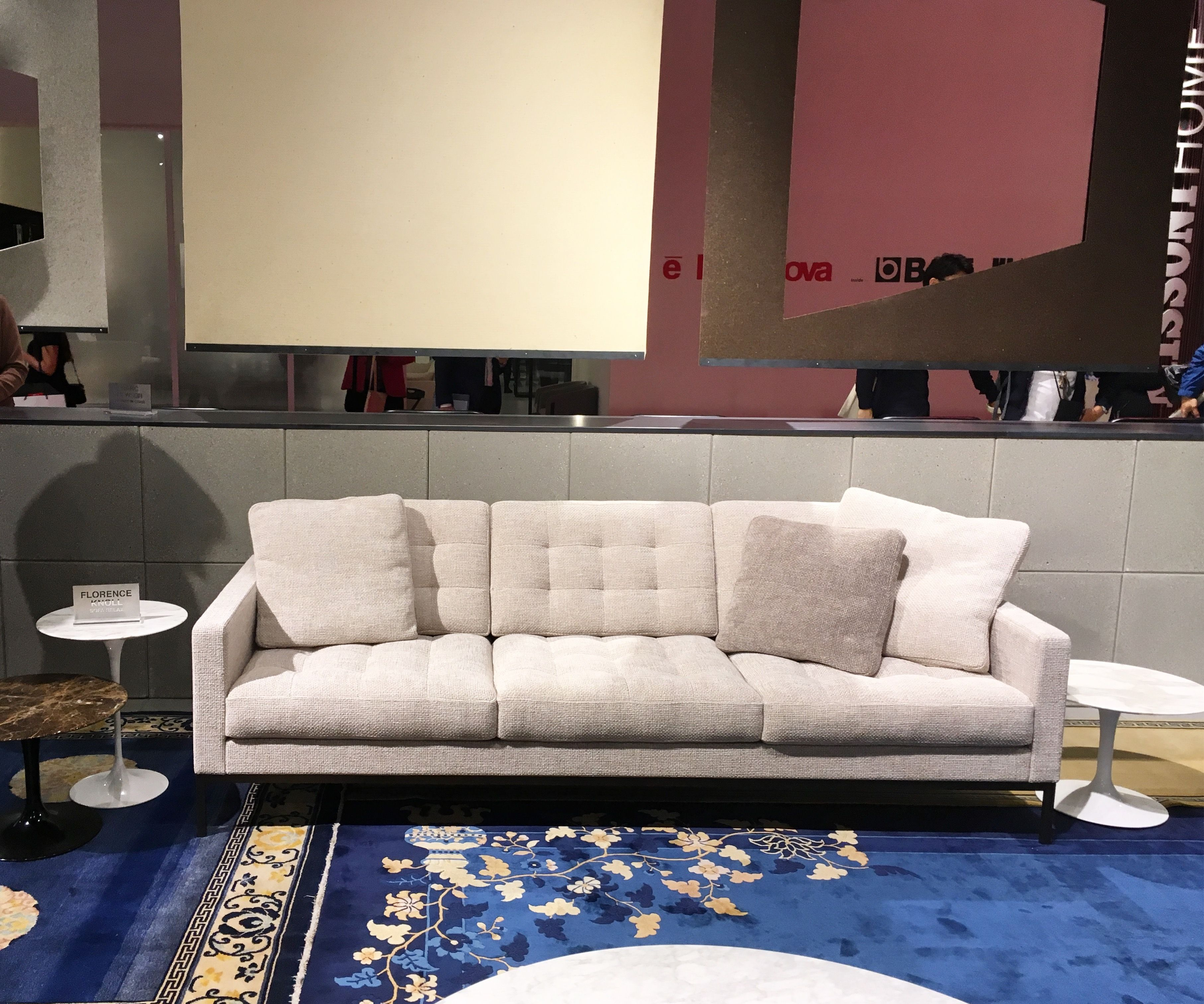 Astonishing Florence Knoll Relax Sofa At Milan Salone Del Mobile 2018 Download Free Architecture Designs Scobabritishbridgeorg