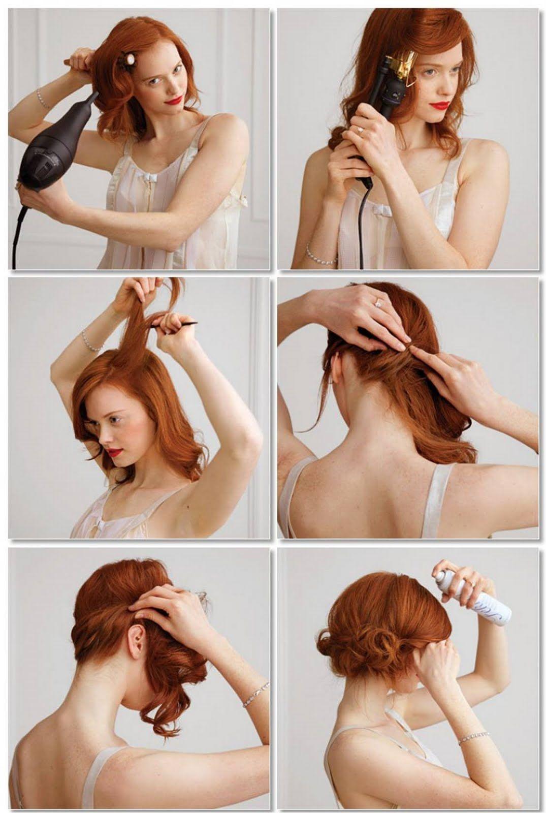 Elegante frisuren fur lange haare anleitung