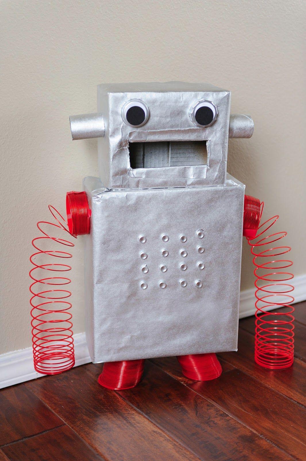 Mommy Lessons 101: Creative Valentine Box #10   Robot Version 2