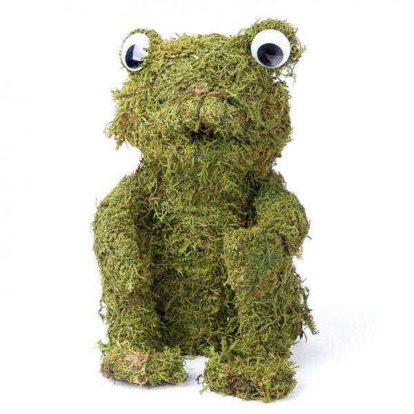 ... Froschfigur Aus Echtem Moos überzeugt Als Wirkungsvoller Schmuck Für  Den Innen  Und Außenbereich. Jetzt Online Bestellen Und Bequem Liefern  Lassen!