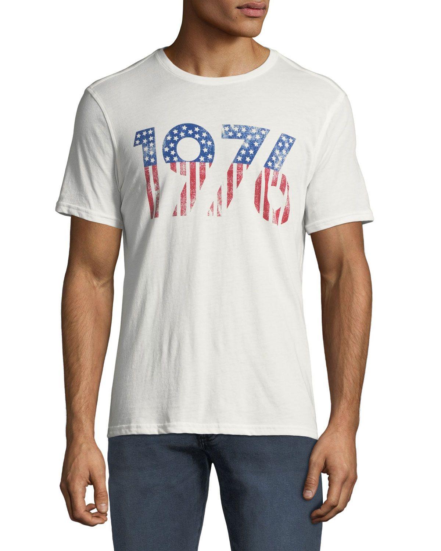 John Varvatos Star USA Mens Im On Vacation Skull Graphic Crew T-Shirt