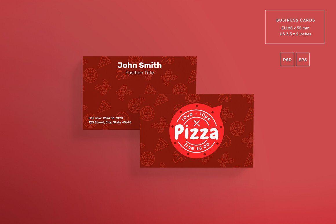 Promo Bundle | Pizza | Pinterest | Business cards, Business card ...