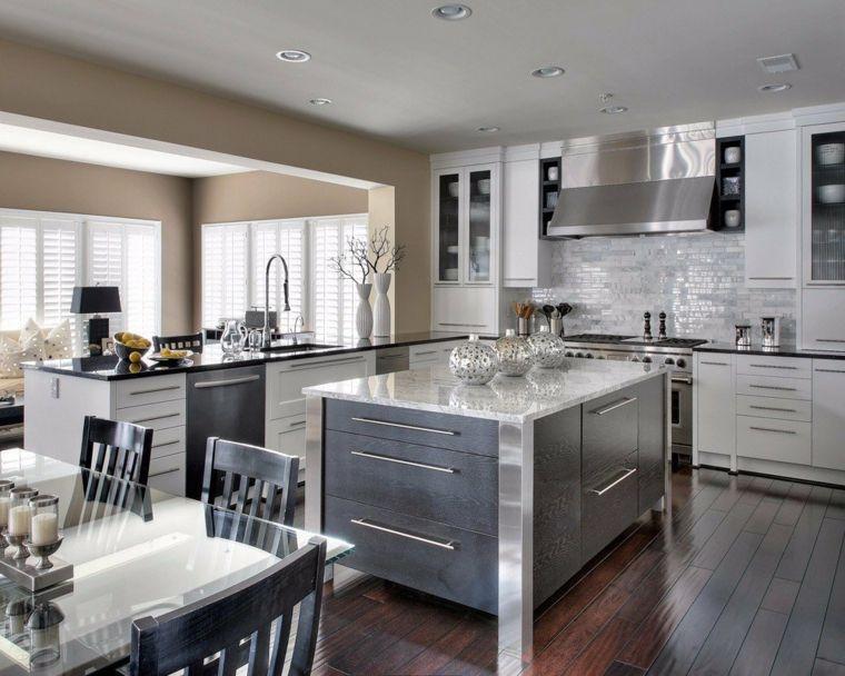 esempio per arredare open space cucina soggiorno con mobili ...