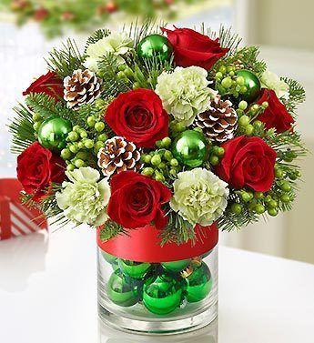 Pin de Patty Cruz en Christmas decor Pinterest Centros de mesa