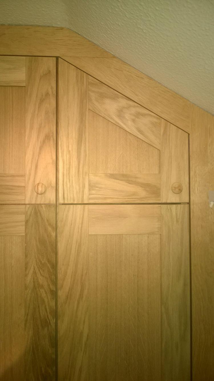 Oak Veneered Wardrobe And Bridging Units D Home Decor