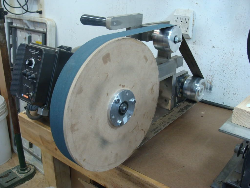 Home Built Contact Wheel The Knife Network Forums