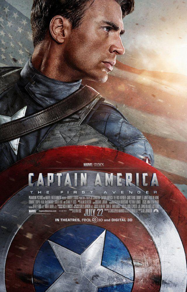 Captain America The First Avenger 2011 Captain America Movie Avengers Movie Posters Avengers Movies