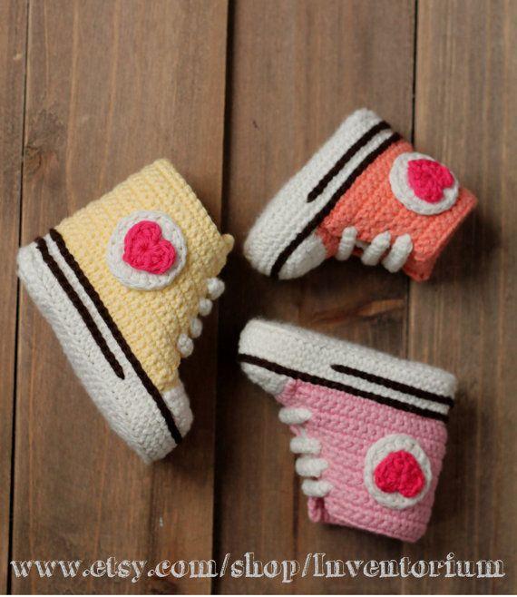 Crochet PATTERN baby booties crochet pattern, \