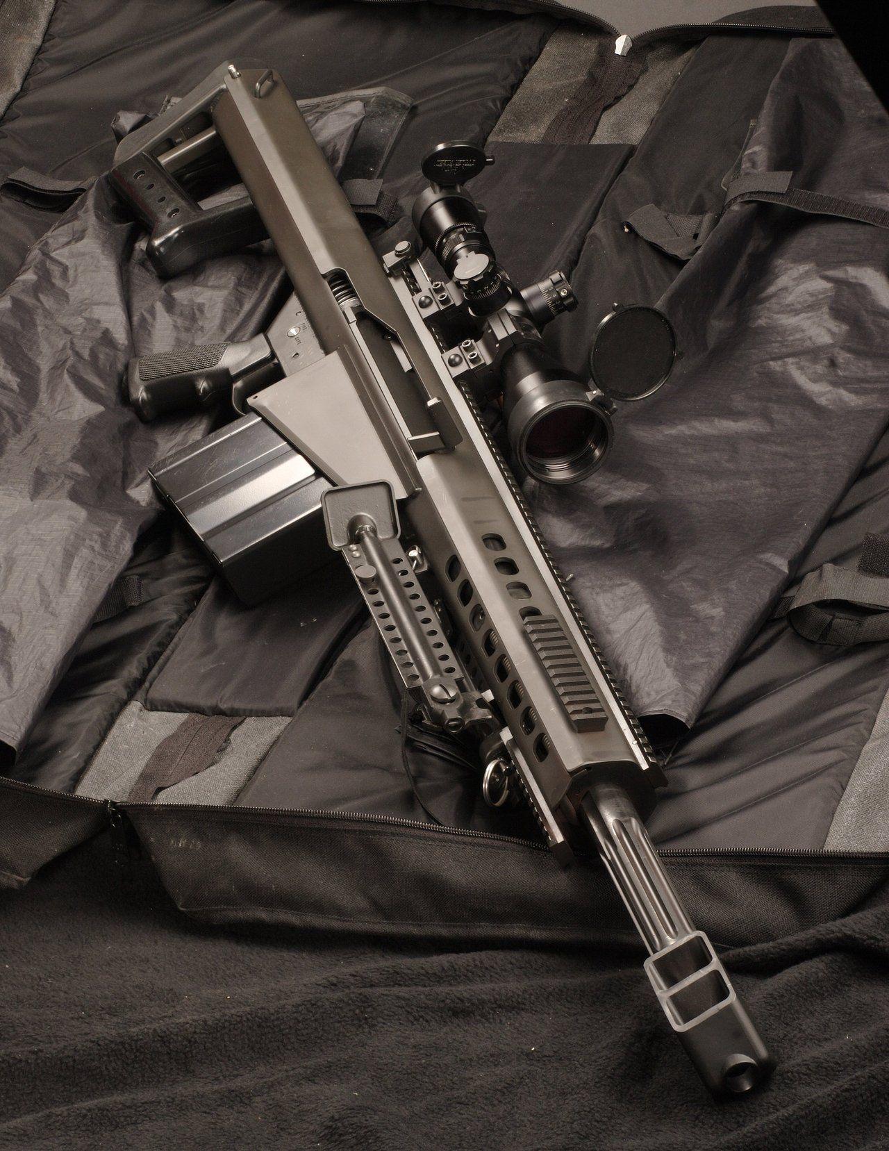 Barrett Short #gun #guns #rifle #m4 #ar15 #229 #rounds #clip
