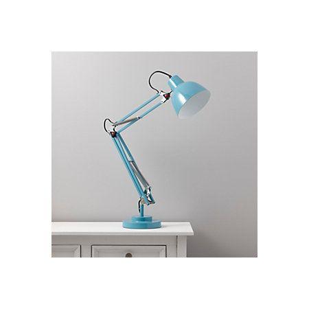 Isaac Blue Desk Lamp