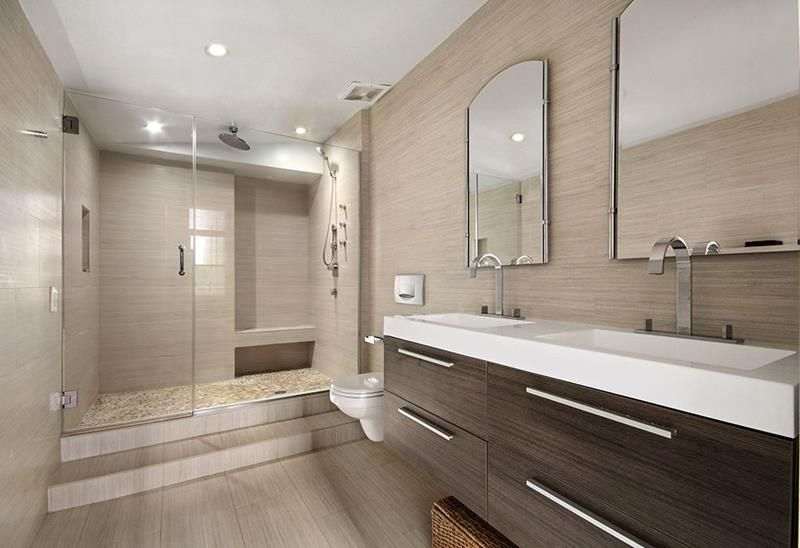 Best The 20 Most Beautiful Master Bathrooms Of 2019 Modern 400 x 300