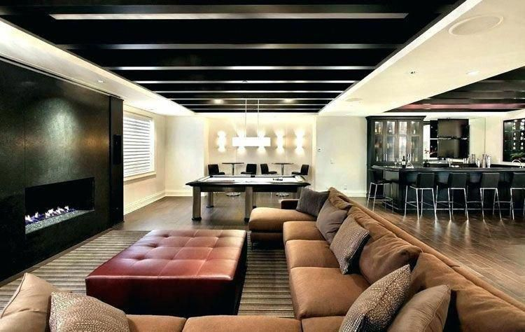 Modern Basement Man Cave Decorating Ideas - Best Man Cave Ideas: Cool, Classy and Modern Man Room Decor Designs - Luxury, DIY, Cheap, and Awesome Man Caves In Your Home, Garage, Basement, or Outdoor Space #home #homedecor #homedecorideas #homedesign #homeideas #interiordesign #designideas #mancave #mancaveideas #mancavedecor #mancavebasement #mancavegarage #mancavebasementfootball