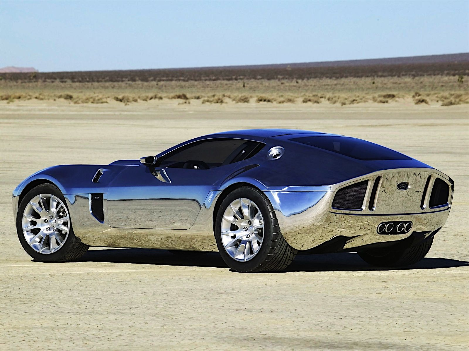 Ford Shelby GR 1 Concept 2005 Ford shelby, Concept cars