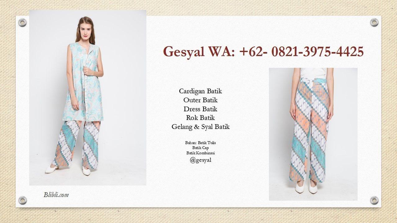 Model Celana Kulot Celana Batik Jogja Model Celana Batik Modern