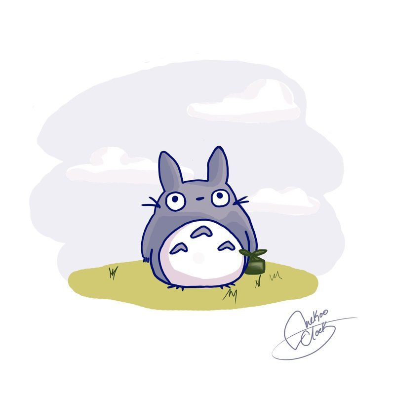 Totoro  Totoro  Pinterest  Lavanda Plantas de lavanda y Arte