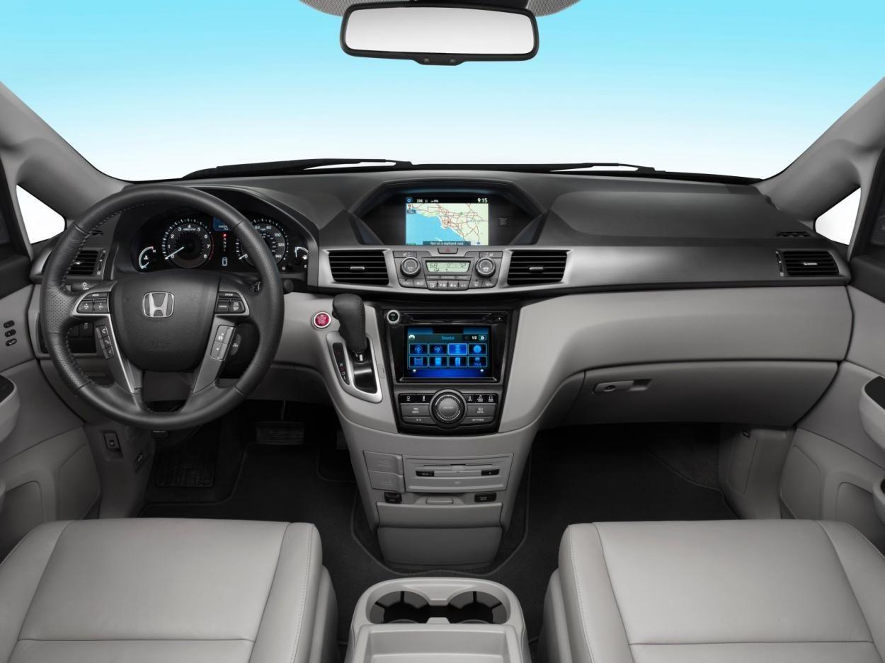 2017 Honda Odyssey Interior Dashboard