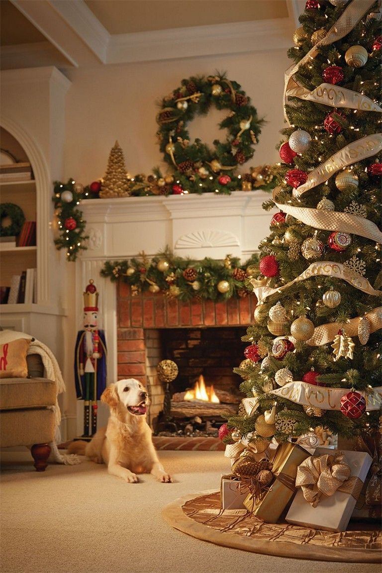 53 Popular Christmas Decoration Ideas Living Room Chris
