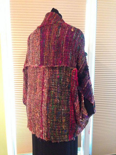 Ravelry: UnderSaskSkies' Sari Silk Cocoon