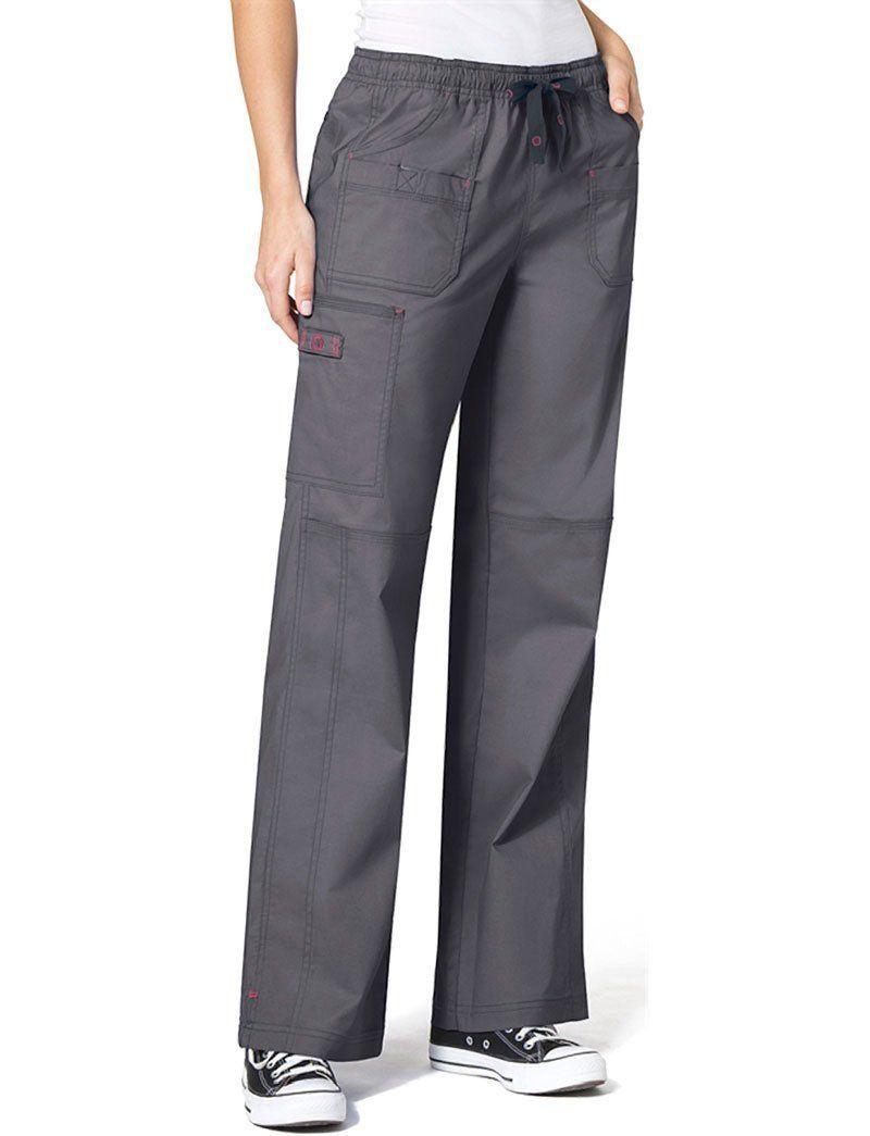 WONDERWINK Unisex-Adult Drawstring Cargo Pant Medical Scrubs Pants