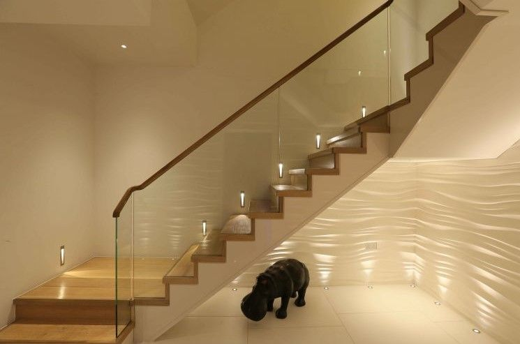 15 Stairway Lighting Ideas For Modern And Contemporary: Staircase Lighting Ideas