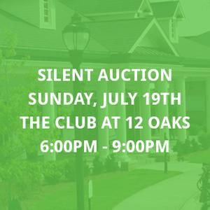 The Silent and Live Auction Event at The Club at 12 Oaks. #100happydays #day44  $50000 worth of items. Starting bids as low as $10!!!!  See you there!!!
