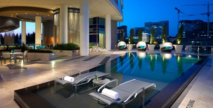 Pool Perfect For Relaxation At Cirque Apartments In Dallas Tx