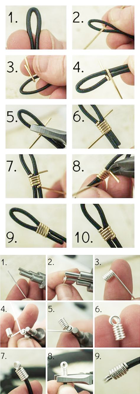 Photo of How to Finish Leather Cord with Wire