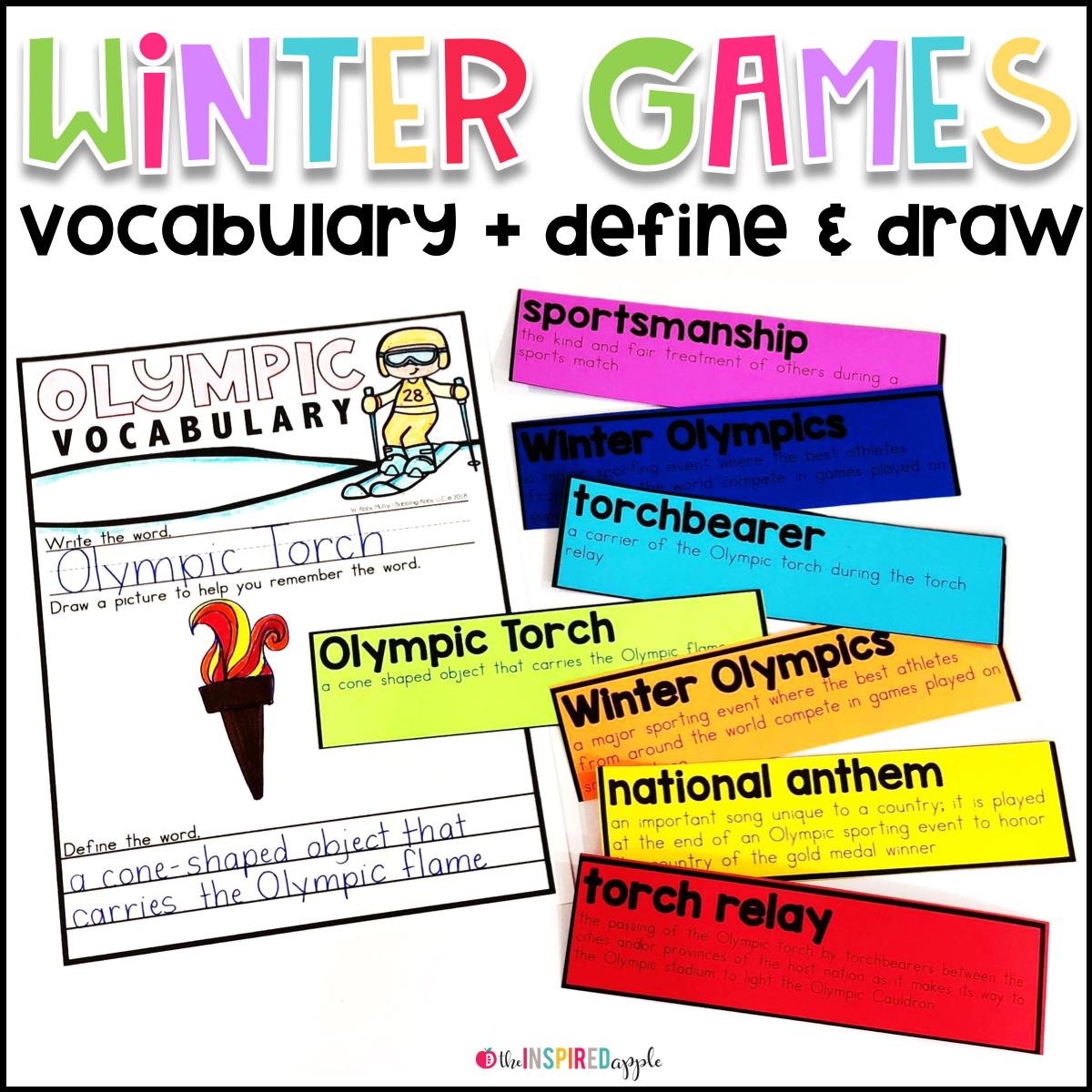 Winter Olympics Activities For Kindergarten And First Grade Babbling Abby Olympics Activities Winter Olympics Activities Winter Olympics [ 1200 x 1200 Pixel ]