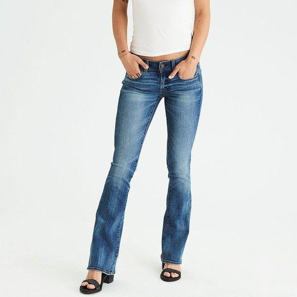 AE Denim X Kick Boot Jean ($50) ❤ liked on Polyvore