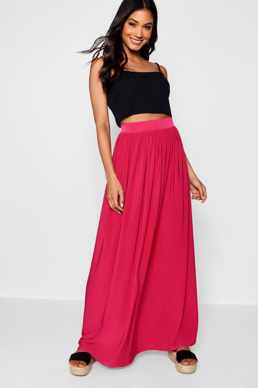 5a19186013 Click here to find out about the Sophia Slinky Floor Sweeping Maxi Skirt  from Boohoo, part of our latest Skirts collection ready to shop online  today!