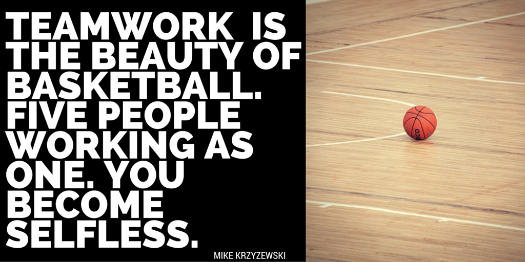 Basketball Team Quotes | Basketball Quotes Teamwork Is The Beauty Of Basketball Five People