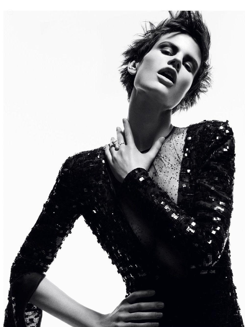 Saskia de Brauw, Vogue Germany November. by Vincent Van De Wijngaard