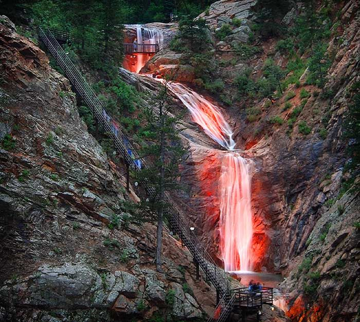 7 Falls - In Colorado And I Walked Up To The Top.