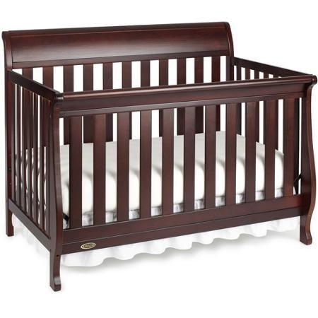 Graco Hartford Fixed Side Convertible Crib   Walmart.com $150