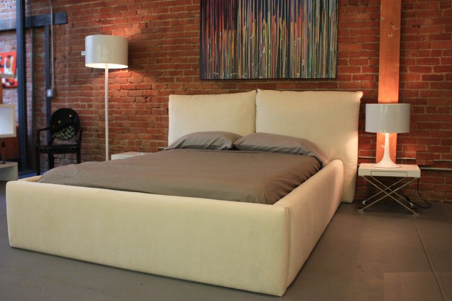 Soho Living are specialists in the Custom Bed Frame low wooden bed ...