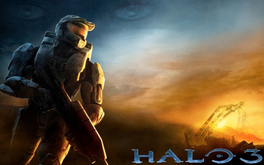 Video Game Halo 3 Halo Master Chief Wallpaper Background Images Halo Game Wallpaper Backgrounds