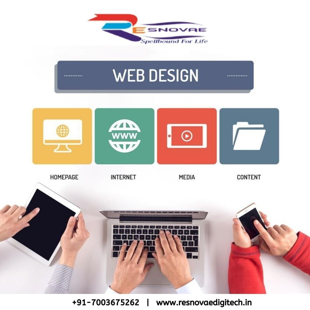 Resnovae Digitech Is A Leading Web Development Company Offers Complete Website Development Services With De In 2020 Web Development Web Development Company Development