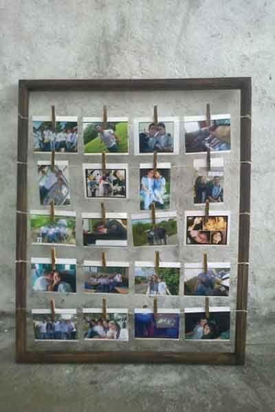 Polaroid Guest Photos Display
