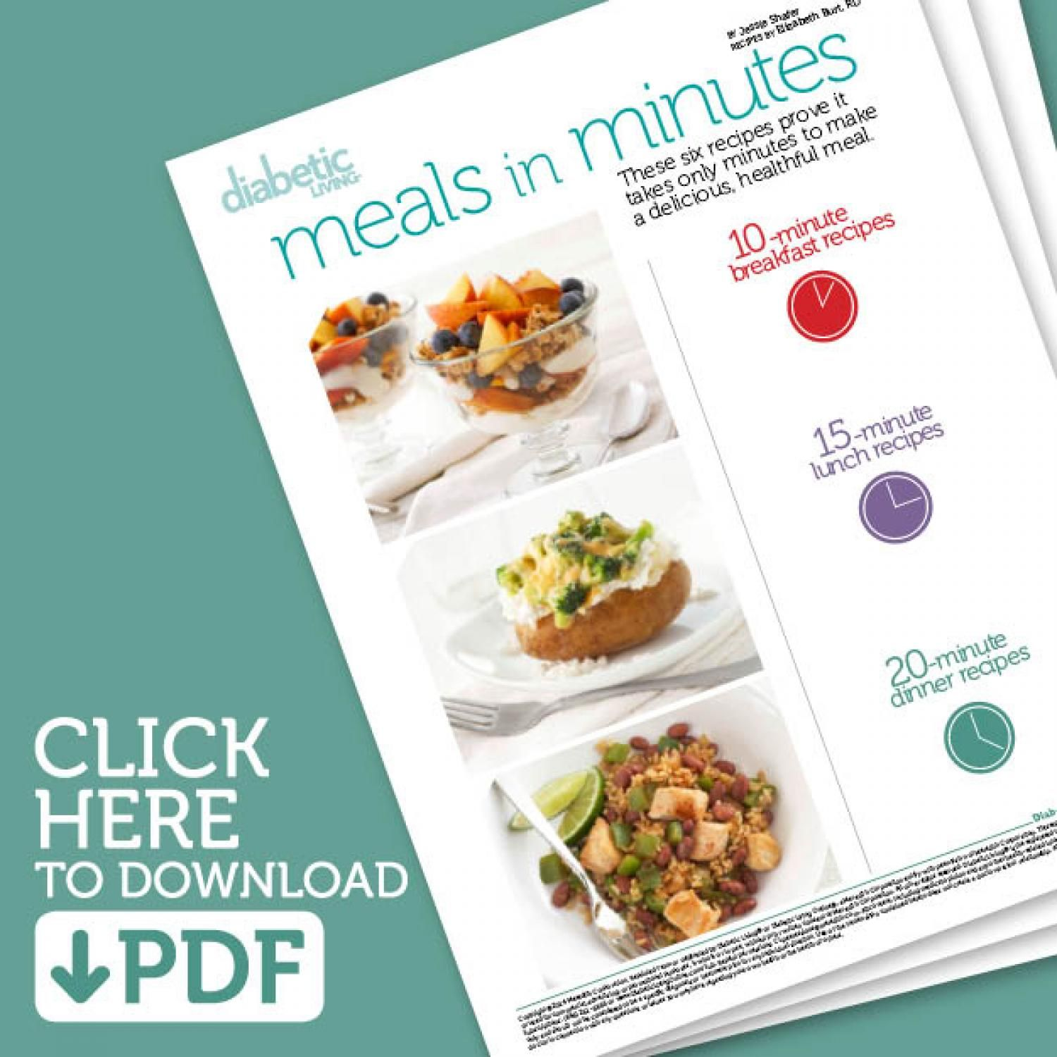 Healthy One Pot Meals 6 Easy Diabetic Dinner Recipes: Diabetic Meals In Minutes Mini Cookbook In 2019