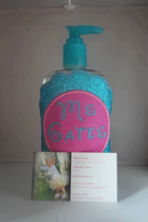 Personalized Hand Sanitizer Cover By Bellastutusboutique On Etsy