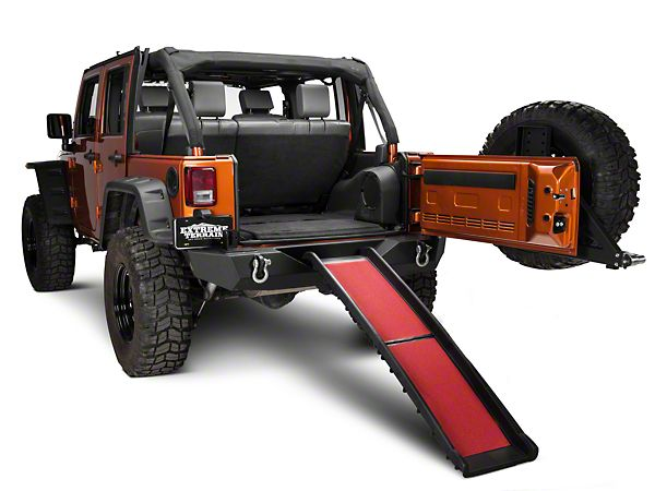 I Need This For My English Bull Dog This Wil Work In My Tj Wrangler Dog Ramp 87 16 Wranger Yj Tj Jk Free Shipping Jeep Dogs Dog Ramp Jeep Wrangler Yj