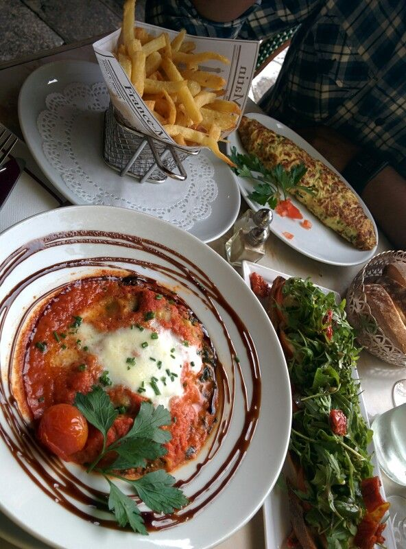Lovely meal in paris